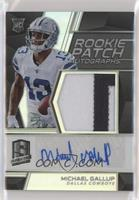 Rookie Patch Autographs - Michael Gallup #/99