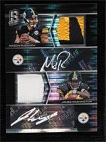 James Washington, Mason Rudolph #/10