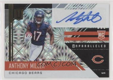 2018 Panini Unparalleled - [Base] - Fireworks #225 - Rookies - Anthony Miller /5