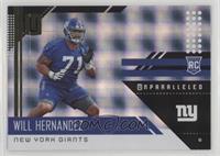 Rookies - Will Hernandez /150