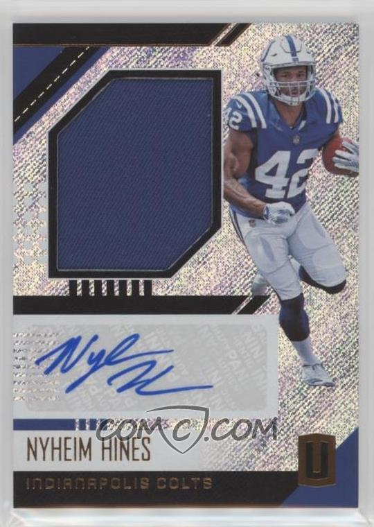 new arrival 47e87 53f69 2018 Panini Unparalleled - Rookie Jersey Autographs #RJA-NH ...