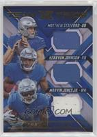 Kerryon Johnson, Marvin Jones Jr., Matthew Stafford /49