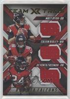 Calvin Ridley, Devonta Freeman, Matt Ryan /99