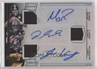 James Washington, Jaylen Samuels, Mason Rudolph #/20