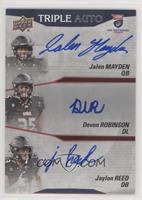 Group B - Jalen Mayden, Devon Robinson, Jaylon Reed