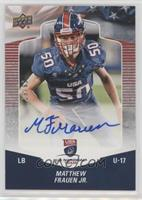 Matthew Frauen Jr. #/99