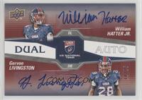 William Hatter Jr., Gervon Livingston #/25