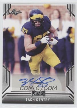 2019 Leaf Draft - Autographs #BA-ZG2 - Zach Gentry
