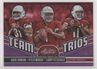 Larry Fitzgerald, David Johnson, Kyler Murray #/5