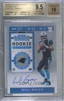 Will Grier [BGS 9.5 GEM MINT] #/23