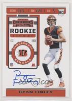 Rookie Ticket RPS - Ryan Finley