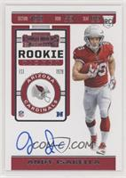 Rookie Ticket RPS Variation - Andy Isabella