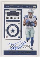 Rookie Ticket RPS - Tony Pollard [EX to NM]