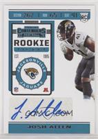 Rookie Ticket - Josh Allen