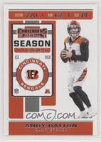 Season Ticket - Andy Dalton