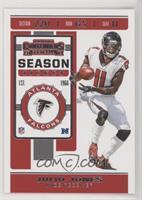 Season Ticket - Julio Jones