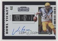 RPS College Ticket Variation A - Will Grier #/25