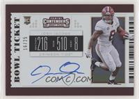 RPS College Ticket Variation A - Josh Jacobs #/25