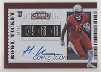 RPS College Ticket Variation C - Hakeem Butler #/25