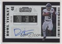 College Ticket - Darwin Thompson #/99