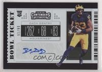 College Ticket - Zach Gentry #/99