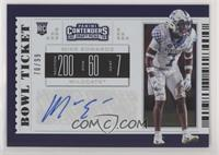 College Ticket - Mike Edwards #/99