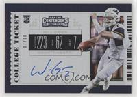 RPS College Ticket - Will Grier /10