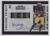 College Ticket - Zach Gentry #/10
