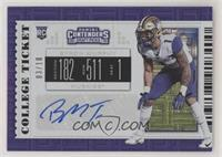 College Ticket - Byron Murphy #/10