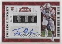College Ticket - Terry McLaurin #/23