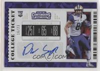 College Ticket - Drew Sample #/23