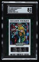 Season Ticket - Carson Wentz [SGC8NM/Mt] #4/15