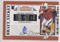College Ticket - Jaquan Johnson
