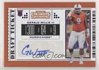 College Ticket - Gerald Willis III