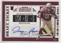 College Ticket - Jacques Patrick