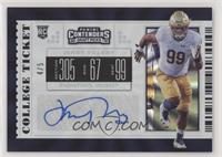 College Ticket - Jerry Tillery #/5
