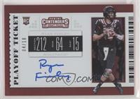 RPS College Ticket Variation A - Ryan Finley [EXtoNM] #/18