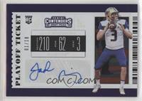 College Ticket - Jake Browning #/18