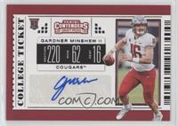 College Ticket - Gardner Minshew II