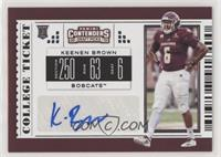 College Ticket - Keenen Brown