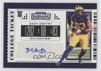 College Ticket - Zach Gentry
