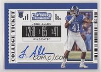 College Ticket - Josh Allen