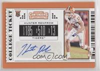 College Ticket - Hunter Renfrow [Noted]
