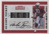 Mike Rozier #/1