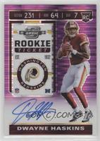 Rookie Ticket - Dwayne Haskins #/21