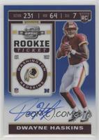 Rookie Ticket - Dwayne Haskins #/75