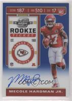 Rookie Ticket - Mecole Hardman Jr. #/75