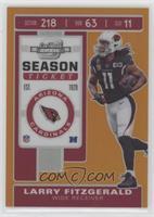 Season Ticket - Larry Fitzgerald #/50