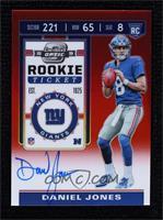 Rookie Ticket - Daniel Jones #/199
