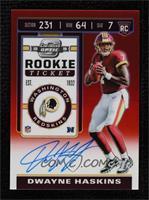 Rookie Ticket - Dwayne Haskins [GemMint] #/199